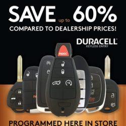 Duracell Keyless Remote