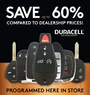 Duracell Keyless Remote