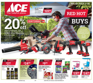 ACE Hardware July Flyer